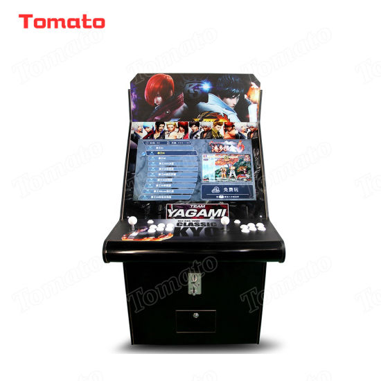 Black Pandora′s Box 6 Arcade Cabinet Fighting Video Game Machine Coin Operated Game Machine pictures & photos