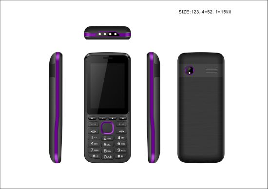 2.4inch Feature Phone with 2500mAh Big Battery, with 3 SIM Card Slot From Chinese Factory pictures & photos