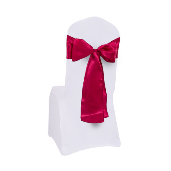 Decorational Satin Sashes for Chair of Wedding and Banquet pictures & photos