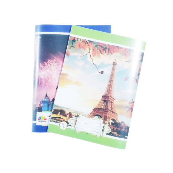 PP Cover Colorful Student Writing Exercise Books for School