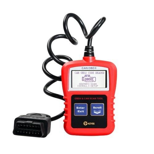 Kzyee Kc10 OBD II & Can Code Reader Universal Obdii Automotive Code Reader