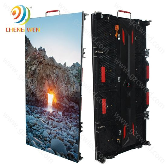 P4.81 Full Color Outdoor Rental LED Billboard Advertising Video Display Panel Screen