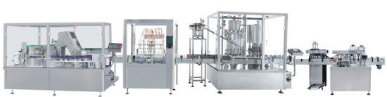 Plastic Bottle Syrup, Oral Liquid, Tincture Filling Line Rotary Line