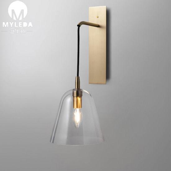 Industrial Vanity Vintage Glass LED Wall Scones Lighting