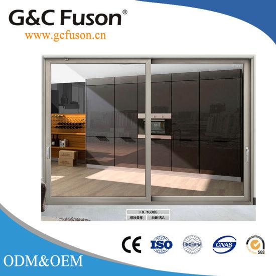 China New Design Low E Double Glazed Sliding Doors For House China