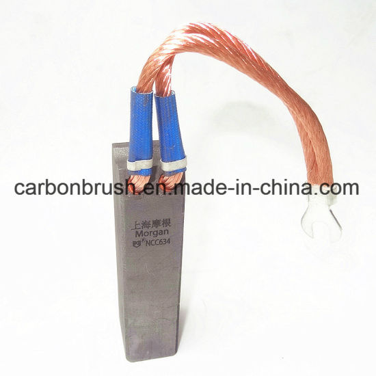 China Grade NCC634 Carbon Brush for Motors Manufacturer in China pictures & photos