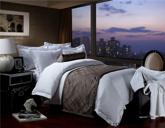 5-Star Hotel Luxury Satin Eyption Cotton Bed Linen