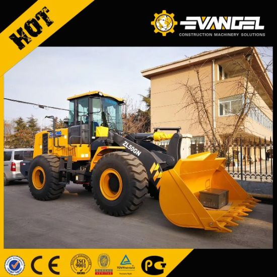 Construction Machinery XCMG 6 Ton Small Wheel Loader Lw600kn pictures & photos
