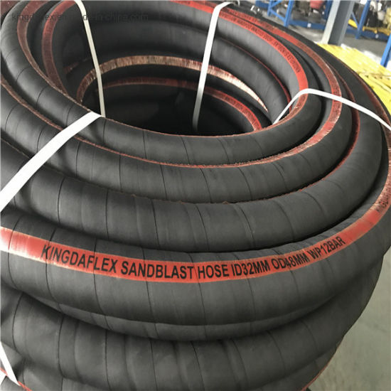 Large Diameter Steel Wire Spiral Water Rubber Suction Hose