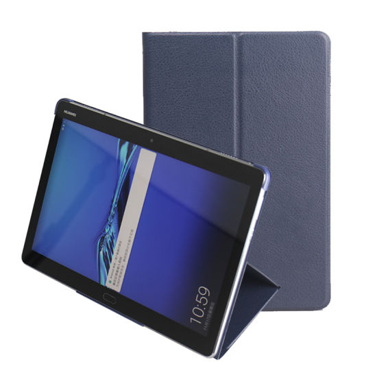 reputable site d1463 24cad China Folded Design PU Leather Case for Huawei Mediapad M3 Lite 10.1 ...