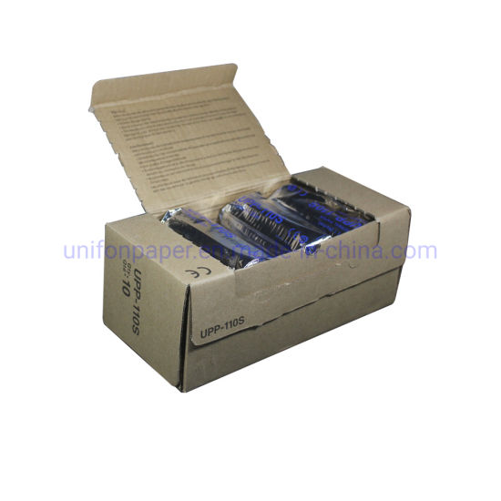 Medical Ultrasound Paper Upp-11s USG Video Printing Thermal Roll for Sony Machine