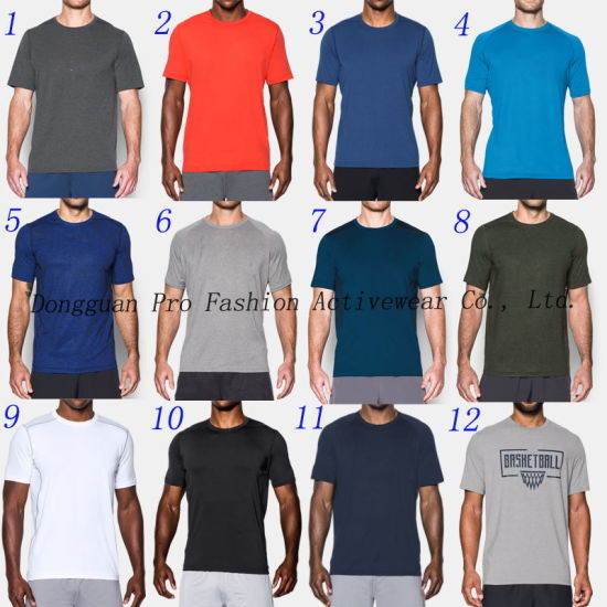 Free Color Gym Wear Men T Shirts pictures & photos