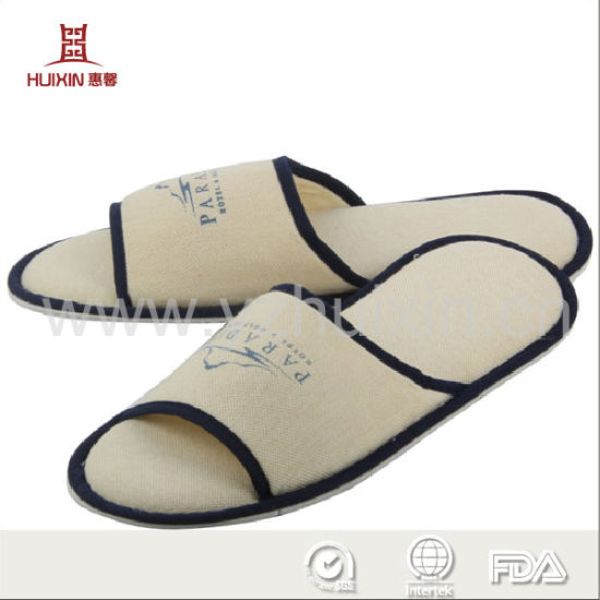 a2c71004d410 China Best Quality Disposable Hotel Slippers with EVA or Anti-Slip ...