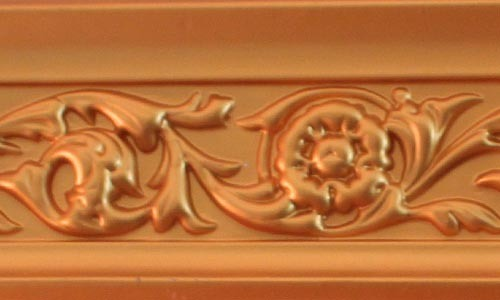 PU Carved Ceiling Polyurethane Cornice for Interior and Exterior Decoration