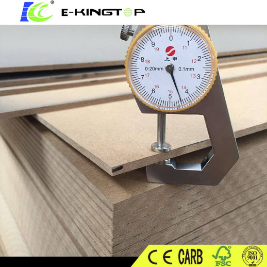 Melamine Paper Laminated Waterproof MDF, Plywood for Furniture