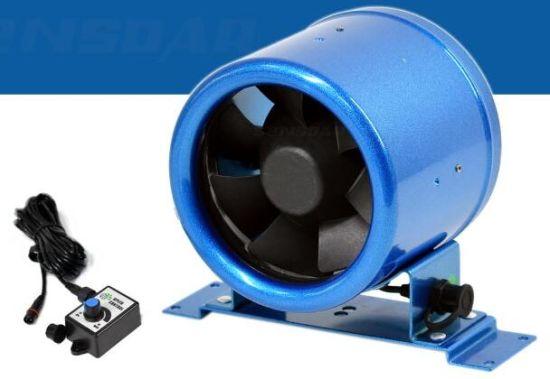 Professional 150mm Multi-Speed Kitchen Cooler Ec Fan