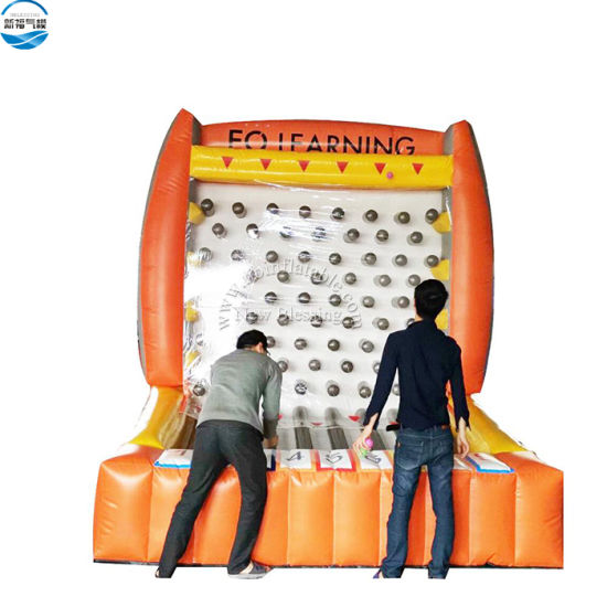 PVC Inflatable Plinko Prize Game Inflatable Plinko Carnival Games