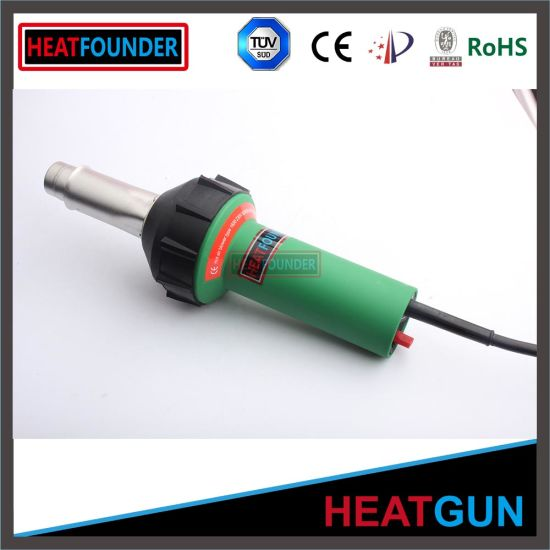 Green/Black HDPE Welding Hot Air Gun with EU Plug pictures & photos