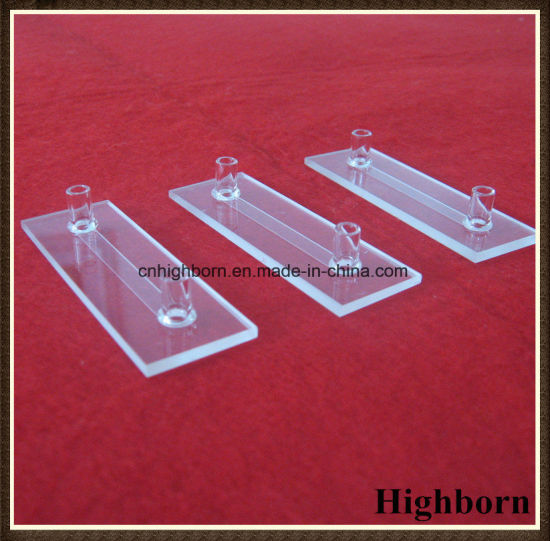 Top Selling Customized Flow Quartz Cuvette Cell with Side Tubes pictures & photos