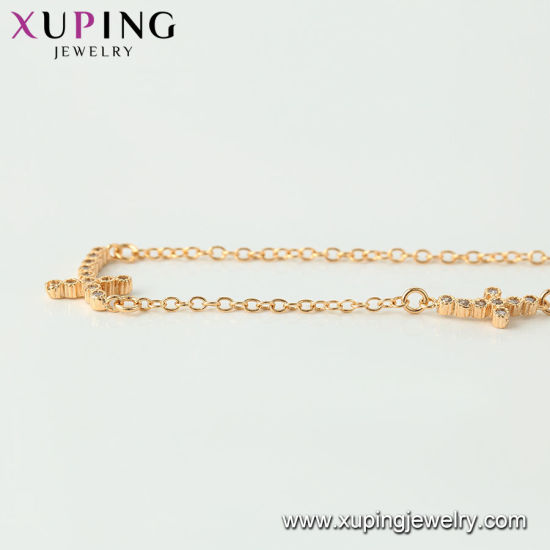 44516 Fashion Jewelry Gold Plated Single Wave Necklace Chain in 2mm pictures & photos