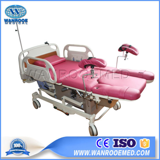 Aldr100A Foldable Gynecological Operating Table Gynaecology Examination Delivery Bed pictures & photos
