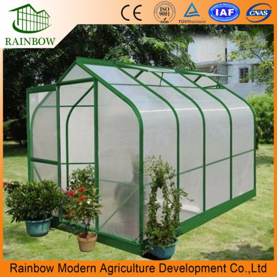 Durable Polycarbonate Panel Sheet Mini Greenhouse For Vegetable Flowers
