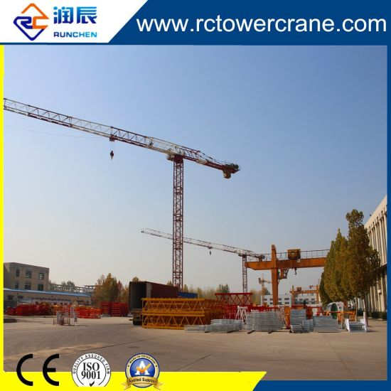 Ce ISO 60m Jib 8ton Topless Tower Crane for Wide Using