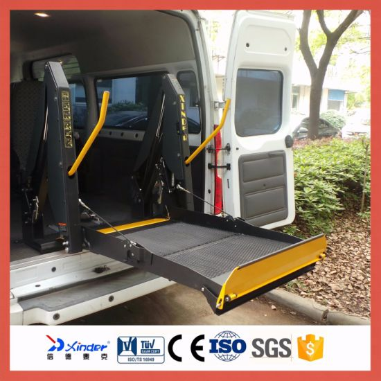 Ce Certified Electric Wheelchair Lift for Van, Disabled Wheelchair Lift (WL-D-880U) pictures & photos