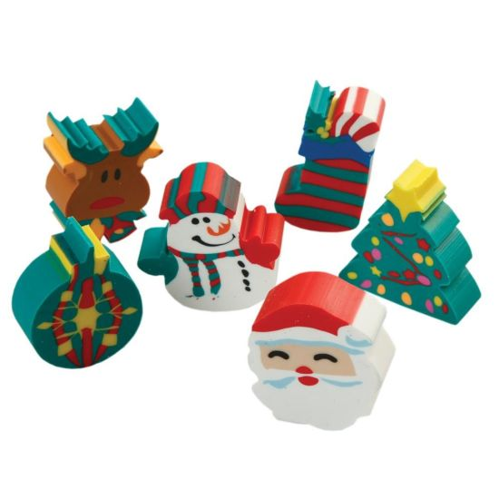 2020 Cute 3D Christmas Gift Erasers pictures & photos