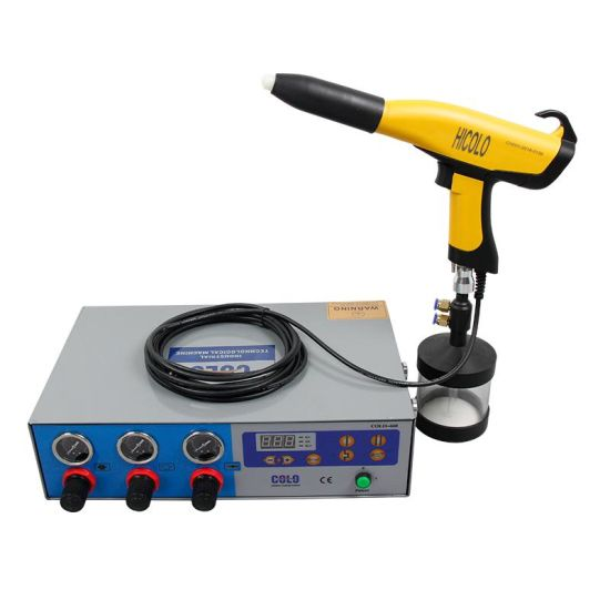 Electrostatic Powder Coating Unit for Small Paintings