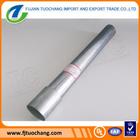 BS31 Conduit Spiral Welded Steel Tubing pictures & photos
