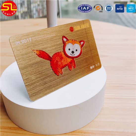 Rewritable Magnetic Stripe PVC RFID Card pictures & photos