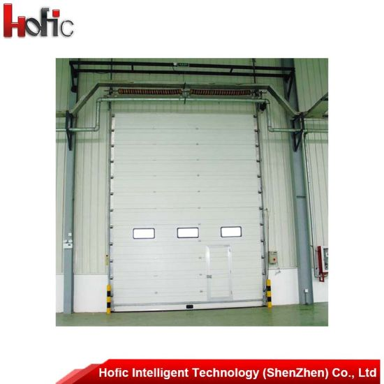 Automatic External Polyurethane Foam Panel Sectional Industrial Doors  sc 1 st  Hofic Intelligent Technology (Shenzhen) Co. Ltd. & China Automatic External Polyurethane Foam Panel Sectional ...