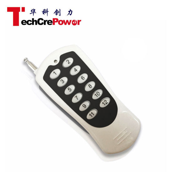 12 Buttons Wireless RF Remote Control pictures & photos