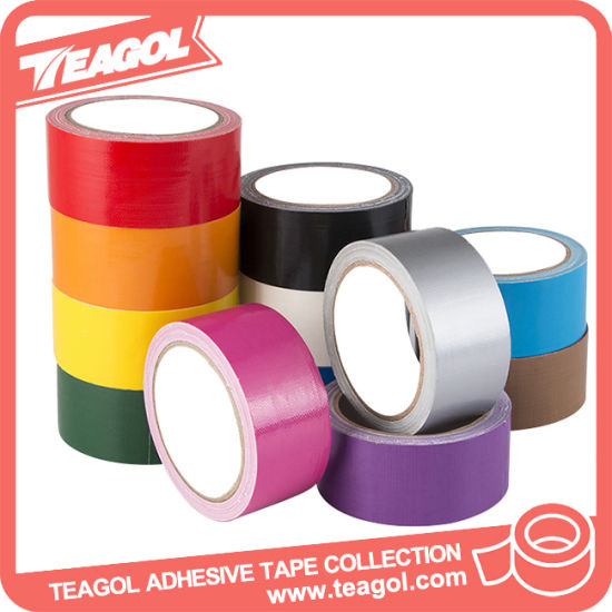 Colored Art Paper Cloth Tap, Cloth Duct Gaffer Tape pictures & photos