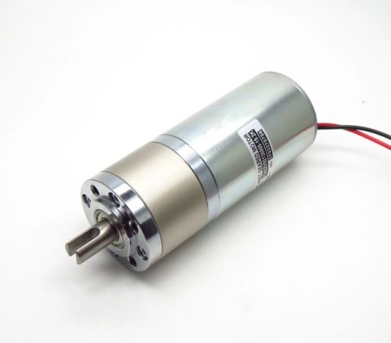 52mm High Torque Low Rpm Low Noise 12V 24V DC Planetary Geared Motor
