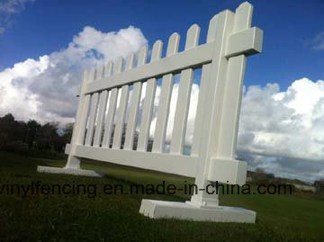 Manufactory Garden Temporary Fence/PVC Decorative pictures & photos