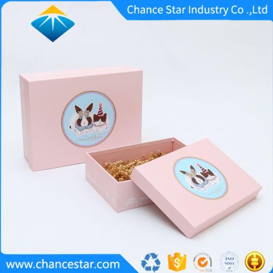 Custom Printed Paper Cardboard Gift Packing Rigid Packaging Box