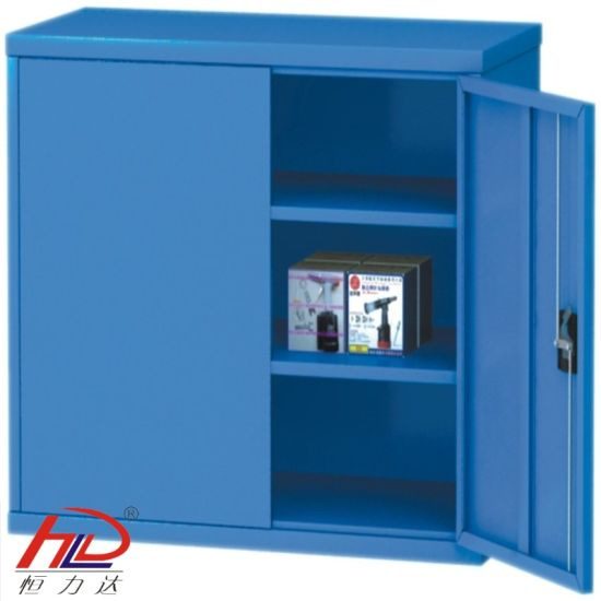 2 Layer Shelving Workshop Warehouse Storage Cabinet pictures & photos