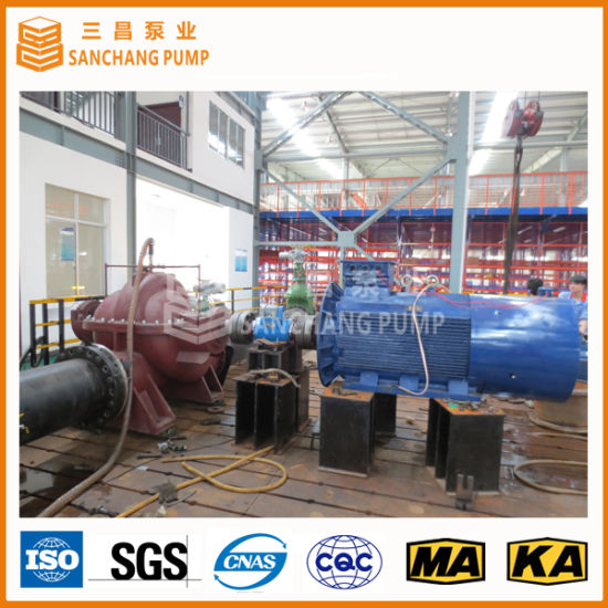 High Efficiency Single Stage Double Suction Split Case Pump pictures & photos