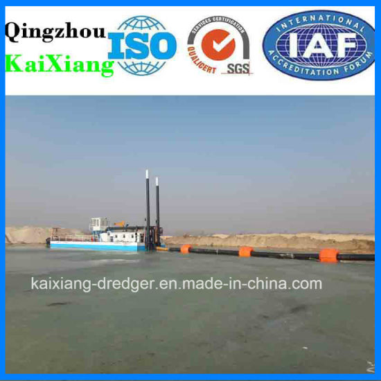 New Design Manufacturer Sand Dredger in River pictures & photos