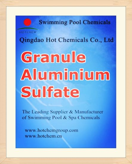 Flocculant Aluminium Sulfate Flake CAS 10043-01-3 pictures & photos