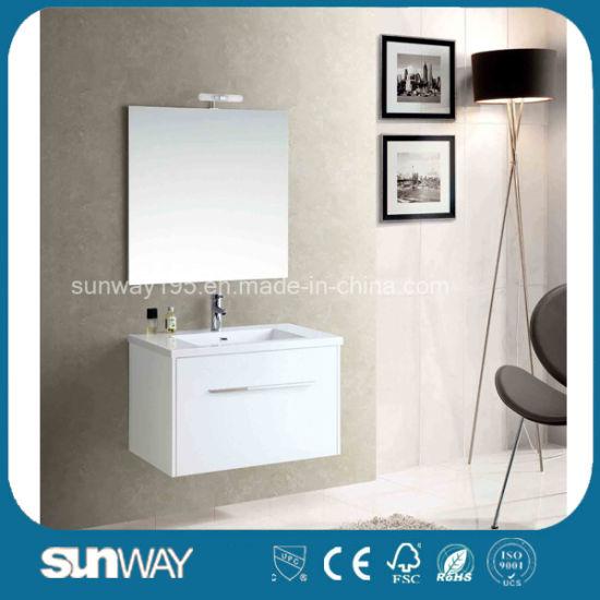 Glossy Fancy Mdf Bathroom Cabinets