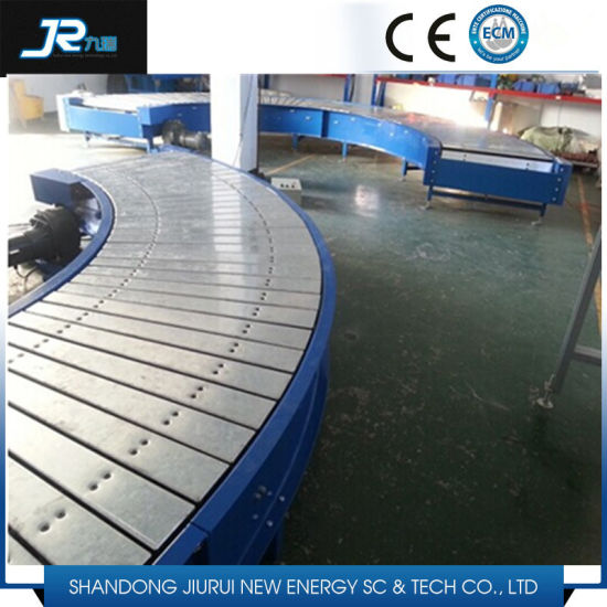 Chemical Industry Stainless Steel Plate Linked Metal Belt Conveyor pictures & photos