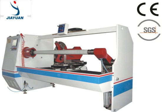 Electronic & Automatic Adhesive Tape Roll Cutter/ Cutting Machine PLC Controlled (JY-A180)