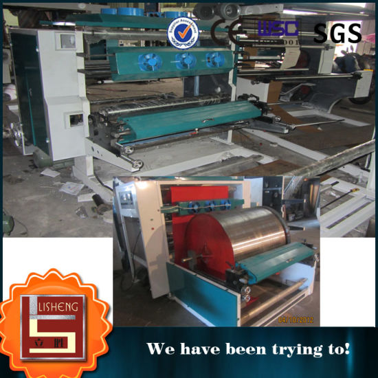 Common Speed One Color Flexo Printing Machine pictures & photos