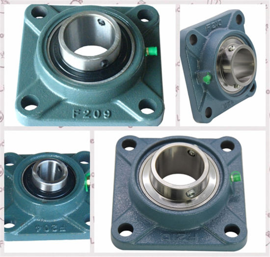 """2-1//2/"""" UCF213-40 Quality square flanged UCF 213-40 Pillow block bearing Qty.2"""