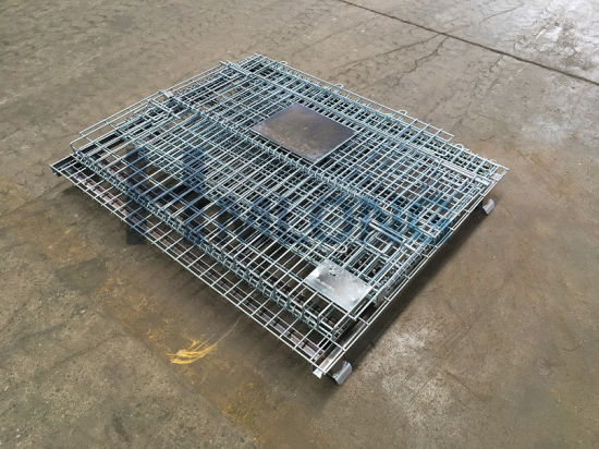 Storage Welded Stackable Wire Mesh Cage pictures & photos