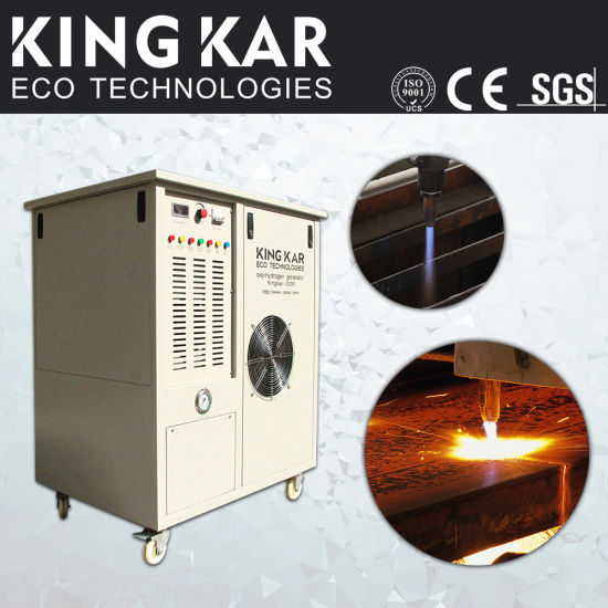 Steel Cutting Oxy Hydrogen Gas Generator (Kingkar5000) pictures & photos