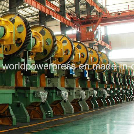 125 Ton Inclinable Eccentric Mechanical Power Press pictures & photos